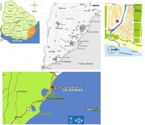 Fotos de Uruguay - alquiler de cabaña de madera en balneario la coronilla km314 de ruta 9 1
