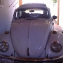 VW FUSCA BLANCO - REGALO