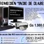 Computadora + Pantalla Plana LCD + Impresora OFERTA Gs 1.980.000 - www.wizasolu.com