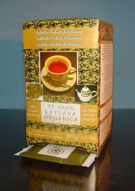 Te de 100% katuava (catuaba) organica - unico en el mercado!