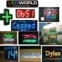 Carteles Eletronicos con LED