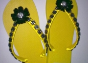 Lindas zapatillas personalizadas y bijouteries