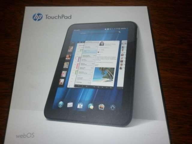 Vendo hp touchpad de 10 pulg . 1.000.000 gs, nuevo