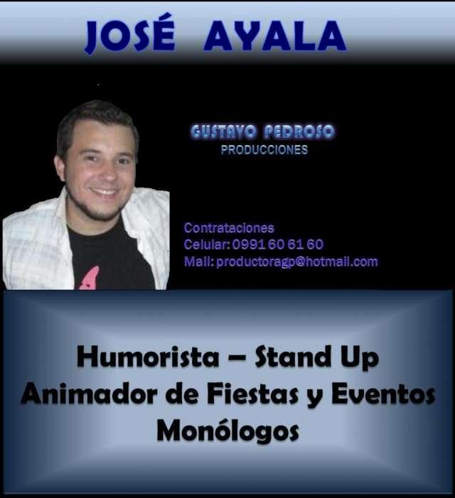 Jose ayala paraguay, humorista jose ayala, contratar a jose ayala
