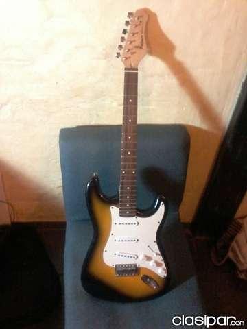 Vendo guitarra electrica marca palmer