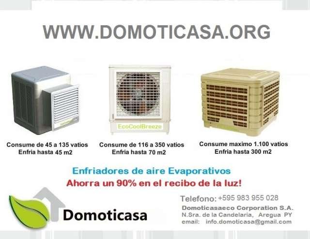 Ecocoolbreeze climatizadores evaporativos paraguay