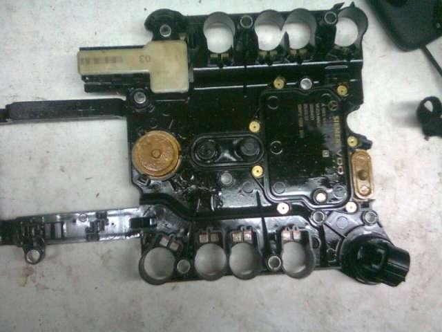 Reparacion placa 722.9 mercedes benz