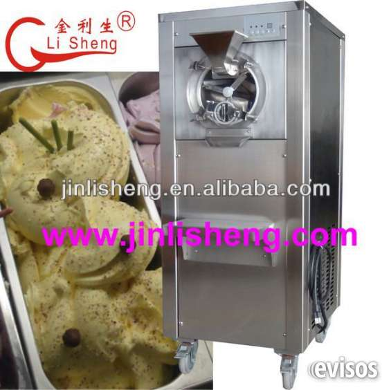 Venta de maquinas de helados sobre pedido