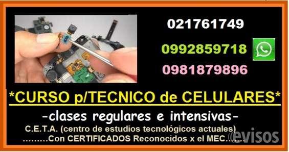 Curso para técnico de celulares