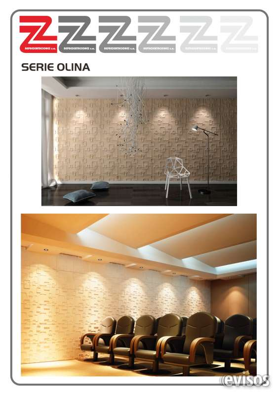 paneles 3d - Paneles Decorativos 3d