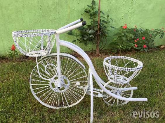 Maceteros de jardin caioffer clsico maceteros decorativos - Bicicleta macetero ...