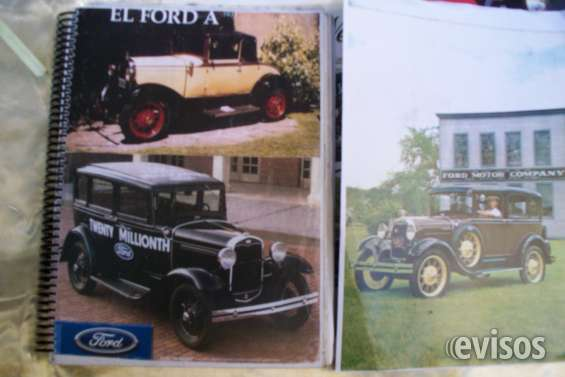 "* literatura tecnica ford ""a"" * en español*edito ford motor company"