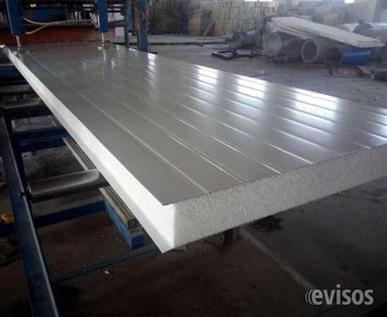Venta de paneles termicos autoportantes para techo y patredes