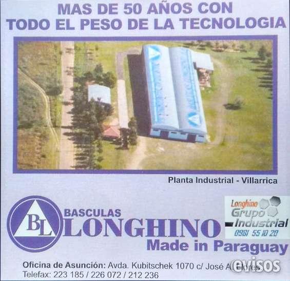 Basculas balanzas paraguay pesa camion y ganado 021 226072