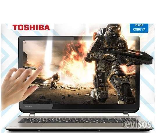 "Toshiba satellite 4k, ultra hd touch-screen15.6"", intel core i7 -6ta generacion, 16gb ddr3"