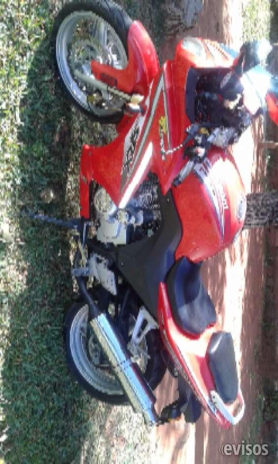 Vendo moto leopar motor 200 cv