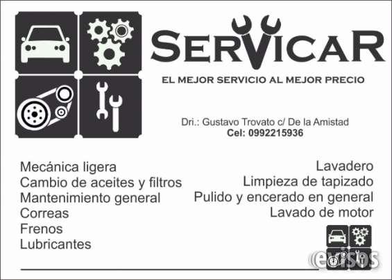 Servicio integral del automóvil