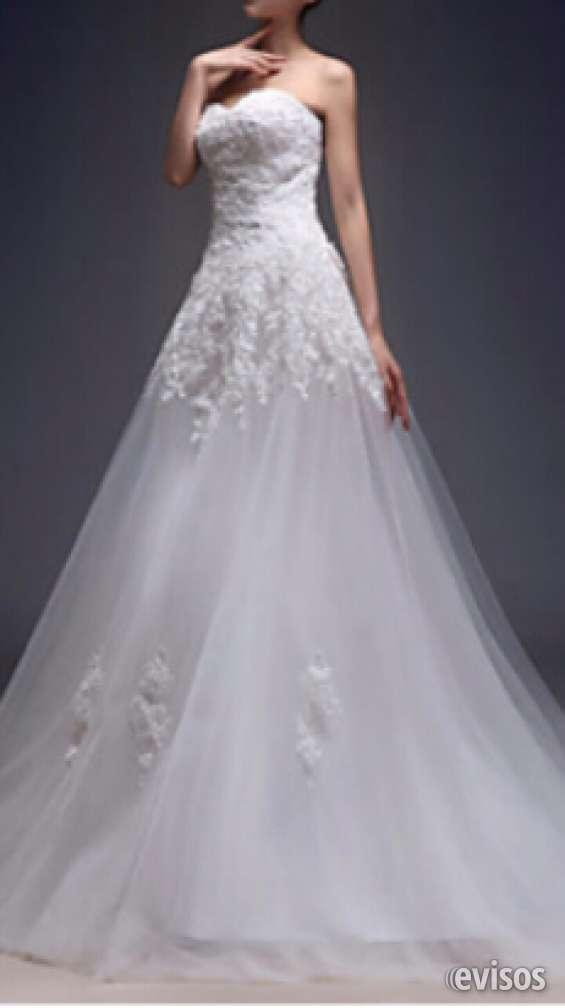Vendo vestido de novia nuevo sin uso