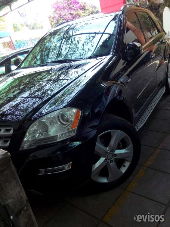Vendo camioneta mercedes benz ml 350 año 2010