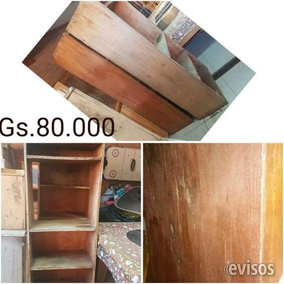 Estante de madera 2 tipo mostrador