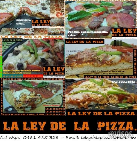 La ley de la pizza - pizzeria - delivery 0981985328