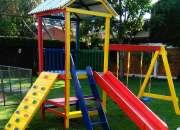 Parques infantiles de madera personalizados