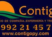 CONTIGO, Servicio de Enfermería y Compañia en Paraguay