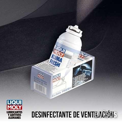 Desinfectante y desodorización del sistema de a/ac
