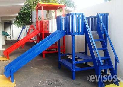 parques infantiles de madera para nios