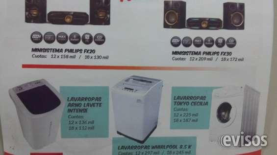 Lavarropas y minisistemas philips