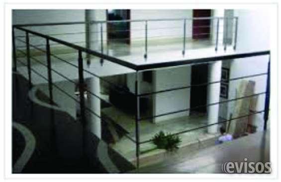 Barandas en acero inox para balcones o escaleras en San Lorenzo ...
