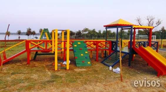Parques de madera para guarderias,plazas,hogares