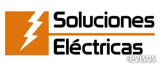 Soluciones eléctricas. ofrece electricista al instante