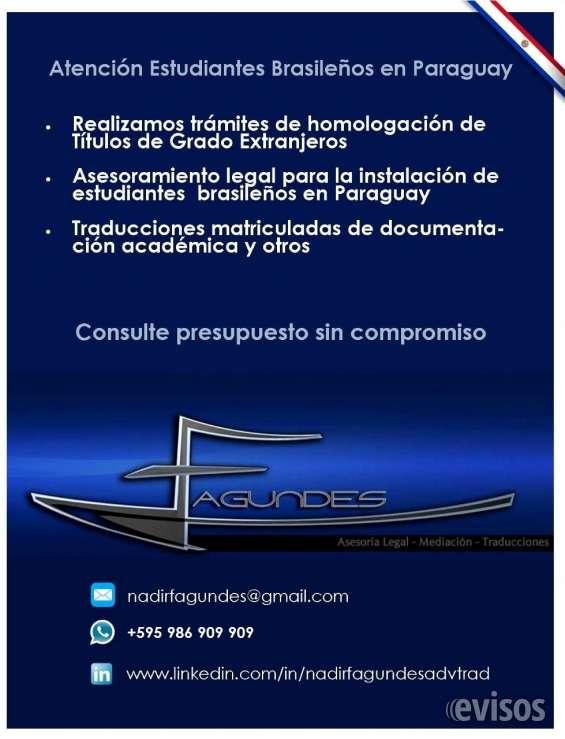 Fagundes asesoría legal & traducciones