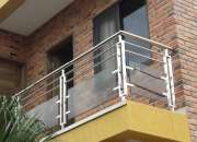 barandas de acero inoxidable para escaleras y balcones