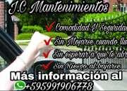 J.c mantenimientos  (ofrecemos servicios domingos y feriados)