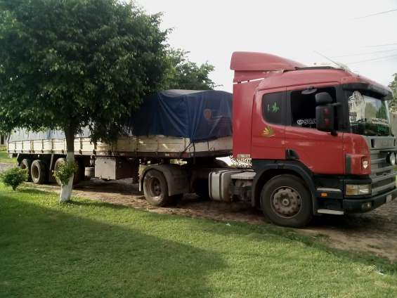 Scania 124-400 carreta metalica metalden. vendo equipo completo