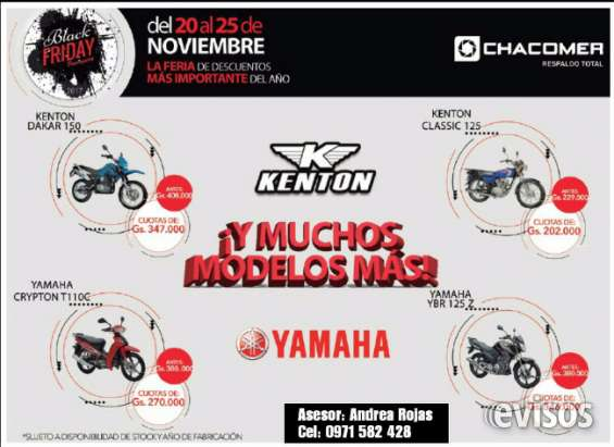 Black friday de motos