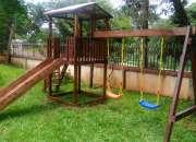 Parques  infantiles de madera para niños