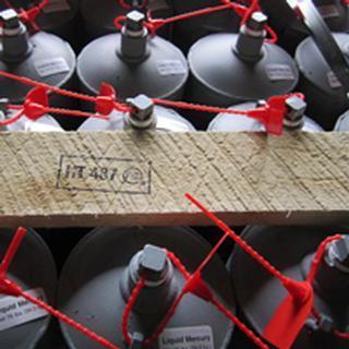 Pure silver mercury liquid para la venta (para la minería de oro) cas no.7439-97