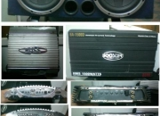 Caja acustica p/auto