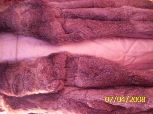 Abrigo de piel natural de chinchilla!!