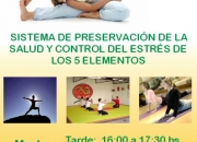 Clases de Preservación de la Salud y Control del Estrés