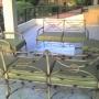 Vendo juego de sillones de patio