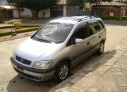 Opel zafira, recien importado, sin uso en py, año 2000, doble techo solar, incomparable