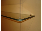 Estanterias de vidrio con diseño y funcionalidad. artensor