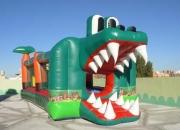 Castillos inflables-- cocodrilo