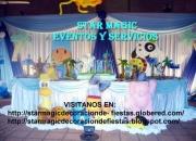 Decoracion de fiestas infantiles bodas 15 años bautismos otros eventos star magic eventos