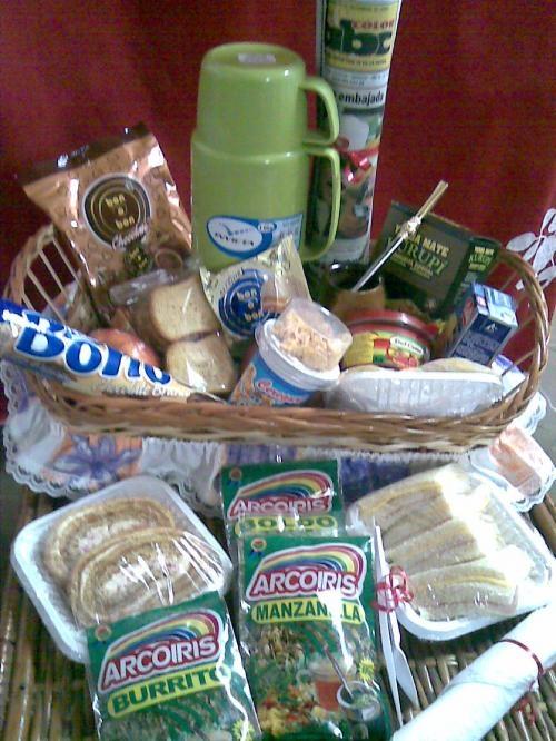 Canasta de desayuno matero y terere - regalos delivery a paraguay