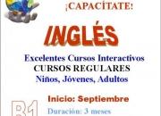 Estudiá inglés, cursos regulares